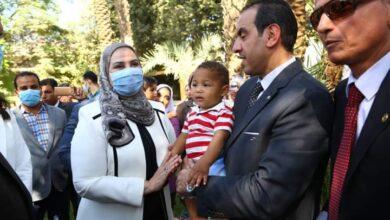 صورة وزيرة التضامن الاجتماعي تفتتح أكبر مجمع لأطفال وكبار بلا مأوى