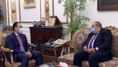 صورة رئيس الوزراء يلتقى المدير التنفيذي بصندوق النقد الدولي