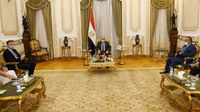 """صورة """"وزير الدولة للإنتاج الحربي"""" يستقبل """"السفير البريطاني""""  ويبحثا سبل تعزيز التعاون المشترك"""