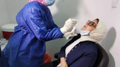 صورة وزيرة الصحة: أكثر من 3 آلاف مواطن شاركوا في التجارب الإكلينيكة للقاح فيروس كورونا بمصر