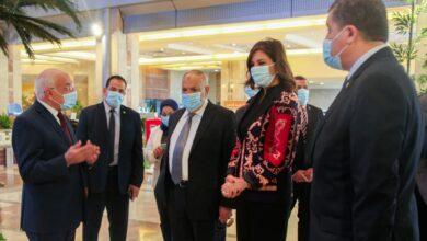 صورة التراس يستقبل وزيرة الهجرة لتنسيق النقاط الرئيسية لمؤتمر مصر تستطيع للصناعة