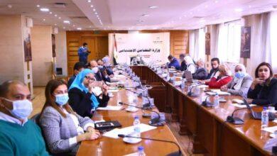 صورة وزيرة التضامن الاجتماعى: تكليف بتدشين صندوق رئاسي لدعم العمالة غير المنتظمة ضد المخاطر المختلفة