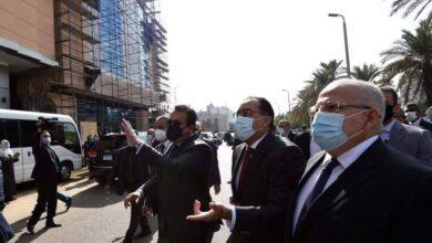 صورة رئيس الوزراء يتفقد أعمال إعادة تأهيل مباني المعهد القومي للأورام وتطوير خدماته