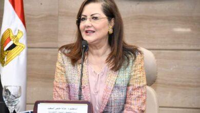 صورة هالة السعيد تحصل على جائزة التميز الحكومي العربية كأفضل وزيرة عربية