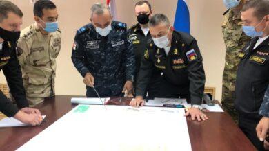 """صورة ختام فعاليات التدريب البحرى المصرى الروسى المشترك """" جسر الصداقة – 3 """""""