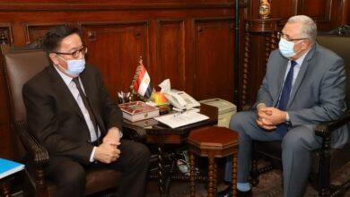 صورة وزير الزراعة يبحث مع سفير كازاخستان تعميق وزيادة التعاون الزراعي بين البلدين