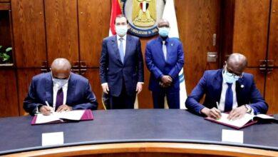 صورة اتفاقية تعاون بين مؤسسة استثمارات الطاقة الأفريقية والبنك الأفريقي للاستيراد والتصدير