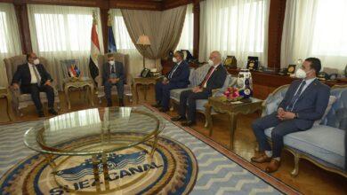 صورة الفريق أسامة ربيع يبحث مع أعضاء مجلسي النواب والشيوخ  سبل التعاون لتحقيق التنمية الشاملة