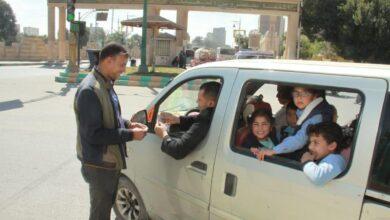 صورة القباج تستعرض تقريرا عن حملات الكشف على سائقى الحافلات المدرسية  خلال الفصل الدراسى الأول