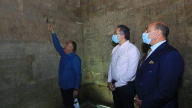 صورة بحضور العنانى وعطية   افتتاح معبد إيزيس بعد الإنتهاء من مشروع ترميمه وتطوير الخدمات السياحية به