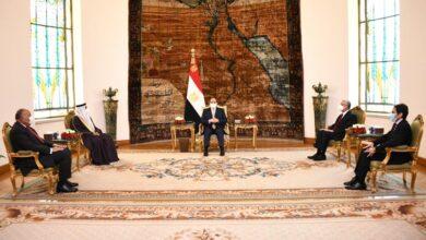 صورة السيسى :  يؤكد أن وحدة المواقف تمكن الدول العربية من وضع خطوط واضحة لصون  الأمن القومي العربى