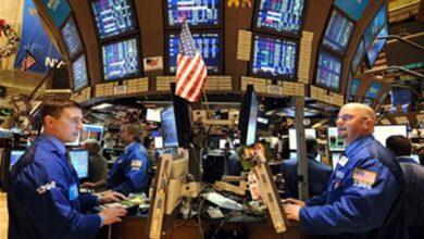 صورة الأسهم الأمريكية تغلق على ارتفاع