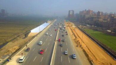 صورة وزير النقل يتابع تقدم أعمال نقل المرافق المتعارضة مع أعمال التطوير بالطريق الدائري