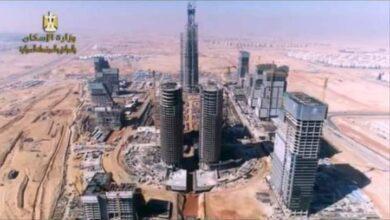 صورة وزير الإسكان: تنفيذ 60 دوراً بالبرج الأيقونى بمنطقة الأعمال المركزية بالعاصمة الإدارية الجديدة
