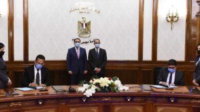 صورة رئيس الوزراء يشهد مراسم توقيع بروتوكول تعاون لإتاحة خدمات مصلحة الضرائب العقارية على منصة مصر الرقمية