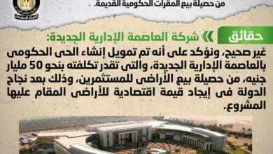 صورة الوزراء ينفى شائعة  تمويل إنشاء الحي الحكومي من حصيلة بيع المقرات الحكومية القديمة