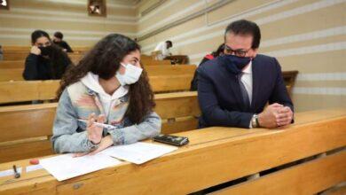 صورة وزير التعليم العالي يتابع انتظام لجان الامتحانات واستئناف بجامعتي القاهرة وعين شمس