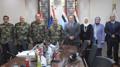 صورة القوات المسلحة توقع مذكرة تفاهم مع كليات طب الأسنان بجامعة الأزهر