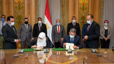 صورة مرسى : توقيع البروتوكول امتداد للتعاون  مع محافظة مطروح، ويعكس التكامل  بمختلف الجهات بالدولة