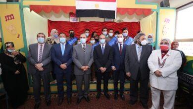 صورة وزير الاتصالات يفتتح أعمال تطوير مكتبي بريد بكفر الشيخ
