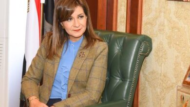 صورة وزيرة الهجرة: شباب الدارسين بالخارج صوتنا لنقل إنجازات الوطن