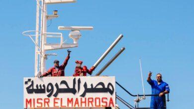 صورة للمساهمة في تنمية سيناء تصدير 6 آلاف طن أسمنت سيناء من ميناء العريش للمغرب بعد توقف 8 سنوات