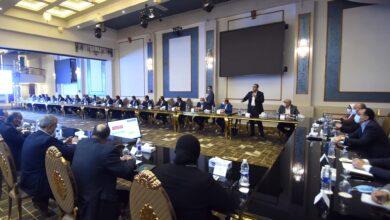 صورة رئيس الوزراء والوزراء يعقبون على مداخلات أعضاء مجلسي النواب والشيوخ بمحافظة المنوفية