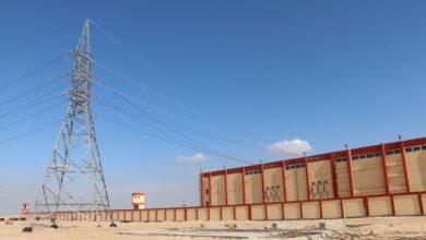 """صورة رئيس جهاز """"السادات """" : تنفيذ خطوط نقل كهرباء بأطوال 23.5 كم لتغذية المناطق المختلفة"""