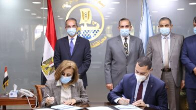صورة وزير الاتصالات يفتتح ويتفقد عدد من مشروعات الاتصالات وتكنولوجيا المعلومات والبريد بمحافظة كفر الشيخ