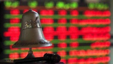 صورة رأس المال السوقي للبورصة يخسر  5.7 مليار جنيه خلال تعاملات اليوم الأربعاء