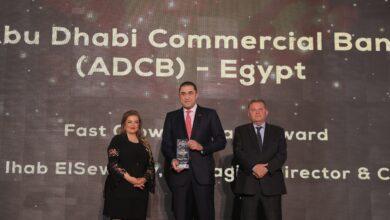 صورة «قمة مصر للأفضل» تمنح جائزة المؤسسة المُتميزة في فئة العلامة التجارية الأسرع نمواً لإيهابالسويركي