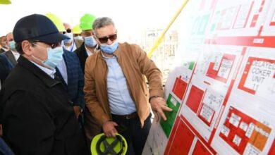 صورة وزير البترول يتفقد توسعة مصفاه  شركة ميدور بتكلفة ٢.٣ مليار دولار