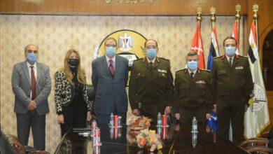 صورة القوات المسلحة توقع مذكرة تفاهم مع كلية الطب بجامعة بدر