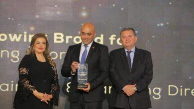 """صورة بنك saib يحصد جائزتين في احتفالية قمة مصر للأفضل 2020 """""""
