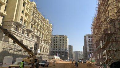 """صورة وزير الإسكان:  بدء التشطيبات لـ٢١٩٥٣ وحدة سكنية و٥١٣ وحدة تجارية بحي """"جاردن سيتي الجديدة """" بالعاصمة الإدارية"""
