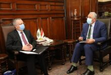 صورة وزير الزراعة يستقبل السفير الروسي بالقاهرة ويبحث معه تعميق التعاون الزراعي بين البلدين