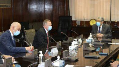 صورة وزير الكهرباء  يستقبل نائب رئيس شركة هيتاشى اى.بى.بي لبحث دعم التعاون