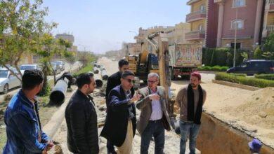 صورة رئيس جهاز العبور الجديدة يتفقد مشروعات الإسكان والمرافق بالمدينة