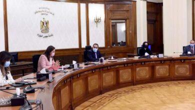 صورة رئيس الوزراء يستعرض جهود المساهمة في إعداد تقرير التنمية البشرية مصر 2020