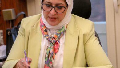صورة وزيرة الصحة: مناظرة 5.4 ملايين من الوافدين إلى مصر بالحجر الصحي بجميع منافذ دخول البلاد منذ بداية الجائحة