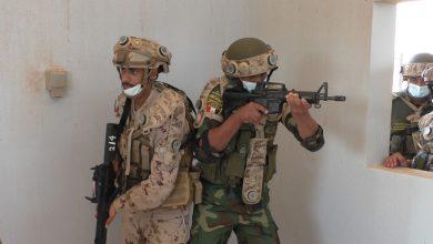 صورة إستمرار فعاليات التدريب المصرى الإماراتى المشترك (زايد 3) بالإمارات
