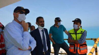 صورة السفير الألماني بالقاهرة يتفقد مشروعات مدينة العلمين الجديدة