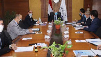 صورة وزير النقل يترأس اجتماع الجمعية العامة العادية لشركة تكنولوجيا معلومات النقل ترانس أي تي