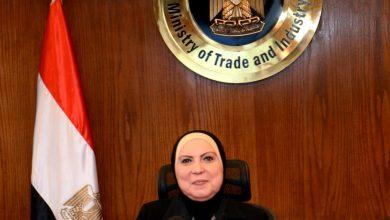 صورة وزيرة التجارة : 19 % زيادة في قيمة الصادرات المصرية