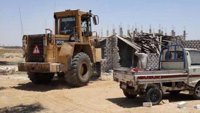 صورة جهاز العبور الجديدة يزيل 4 مبان مخالفة بنطاق مدينة الأمل لمخالفة البناء بدون تراخيص