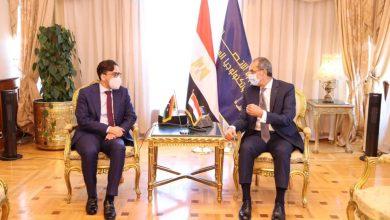 صورة وزير الاتصالات يلتقى وفد رفيع المستوى من قيادات قطاع الاتصالات وتكنولوجيا المعلومات الليبى