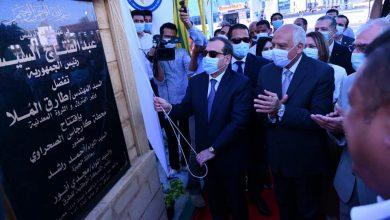 صورة وزير البترول  : محطتان جديدتان لتموين السيارات بالغاز  علي طريق القاهرة الاسكندرية الصحراوي