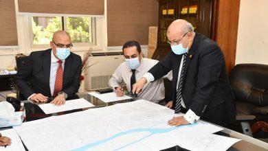صورة وزير الإسكان يتابع موقف تنفيذ مشروعات إحلال وتجديد شبكات مياه الشرب بمحافظة القاهرة