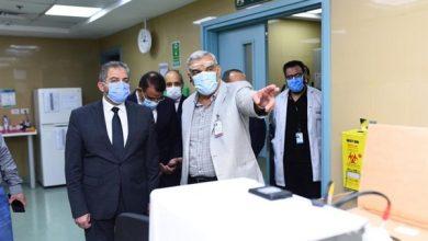 صورة وزير المالية  : تعزيز الشراكة مع القطاع الطبي الخاص لإنجاح التأمين الشامل