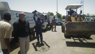 صورة جهاز الشروق يشن حملة إشغالات وضبط مخالفات بمنطقة الورش